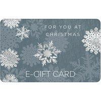 Snowflakes E- Gift Card.
