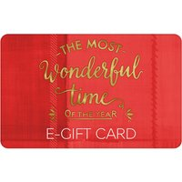 Christmas Text E- Gift Card.