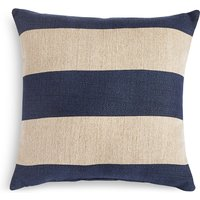 Jute Striped Outdoor Cushion