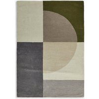 Pure Wool Colour Block Rug