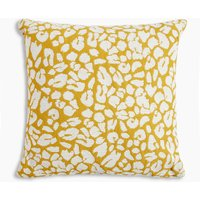 Leopard Jaquard Cushion