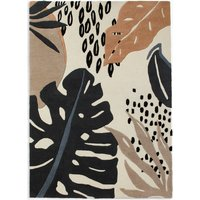 M&S Abstract Leaf Carved Rug P60214303