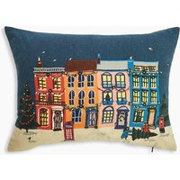 LED Light Up Town House Cushion