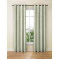 Wide Stripe Eyelet Curtains