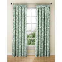 Watercolour Floral Pencil Pleat Curtain