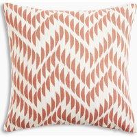 Crescent Chevron Cushion