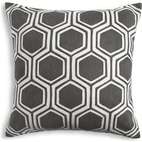 Hexagonal Embroidered Cushion