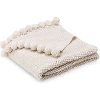 M&S Collection Pom-Pom Throw