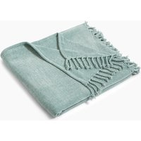 Plain Chenille Throw