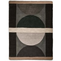 Pure Wool Semi Circles Rug