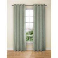 Textural Stripe Eyelet Curtains