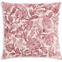 Watercolour Floral Linen Cushion