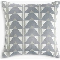 Triangle Jacquard Cushion