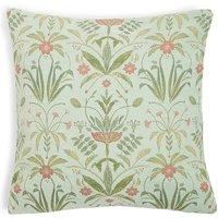 Floral Geo Chenille Cushion