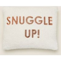 MandS Snuggle Up Embroidered Bolster Cushion - Multi, Multi