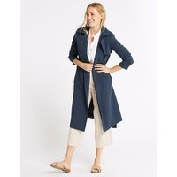 M&S Collection Crepe Trench Coat