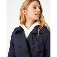 MandS Collection Double Breasted Trench Coat