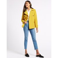 M&S Collection Double Breasted Trench Coat with Stormwear