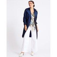 Per Una Metallic Trench Coat with Stormwear