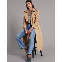 Autograph Trench Coat with Silk