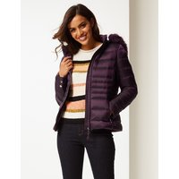 Per Una Padded Down & Feather Jacket with Stormwear