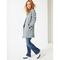 M&S Collection PETITE Open Front Coat