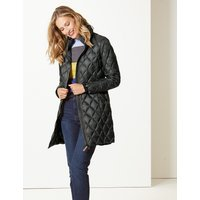 M&S Collection Padded and Quilted Coat with Stormwear