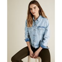 MandS Collection PETITE Essential Denim Jacket