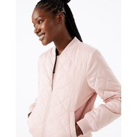 GOODMOVE Reversible Quilted Bomber