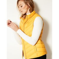 M&S Collection Lightweight Down & Feather Gilet with Stormwear