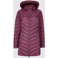 M&S Collection PETITE Down & Feather Coat with Stormwear