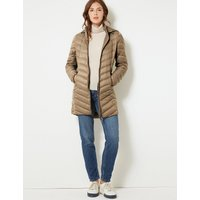 M&S Collection Lightweight Down & Feather Coat with Stormwear