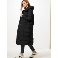 M&S Collection Oversized Longline Padded Coat