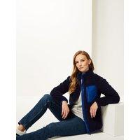 M&S Collection Zipped Through Funnel Neck Fleece Jacket