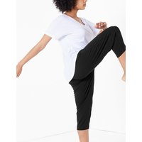 M&S Collection Quick Dry Cropped Yoga Bottoms