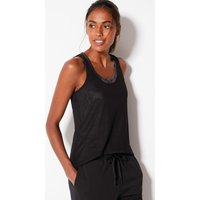 M&S Collection Quick Dry Printed Double Layer Vest Top