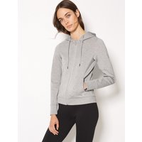 M&S Collection Breathable Long Sleeve Hooded Top