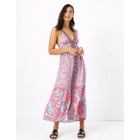 MandS Collection Floral Maxi Beach Dress