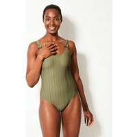 M&S Collection Padded Scoop Neck Swimsuit