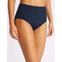 M&S Collection Secret Slimming High Waisted Bikini Bottoms