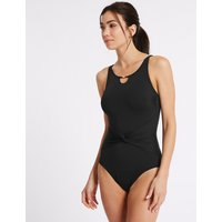 M&S Collection High Neck Non-Wired Swimsuit