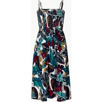 M&S Collection Leaf Print Woven Midi Beach Dress