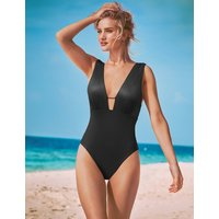 Rosie for Autograph Secret Slimming High Shine Textured Swimsuit