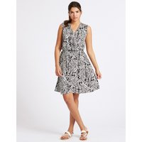 M&S Collection Paisley Print Wrap Dress