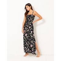 M&S Collection Floral Print Maxi Dress