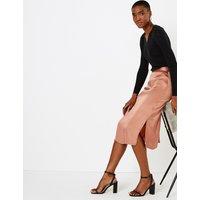 Autograph Slip Midi Skirt