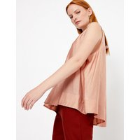 Autograph Gathered Neck Sleeveless Blouse