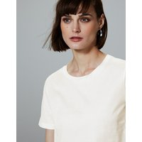 Autograph Pure Supima Cotton Round Neck T-Shirt