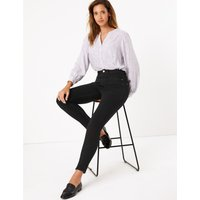 Magic Shaping High Waisted Skinny Jeans black
