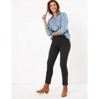 M&S Collection Mid Rise Slim Leg Jeans